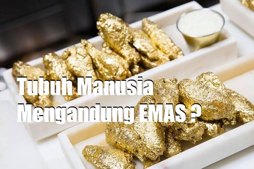 Tubuh Manusia Mengandung EMAS ?